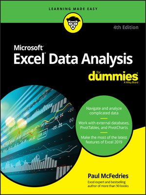 cover image of Excel Data Analysis For Dummies