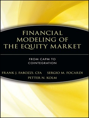 cover image of Financial Modeling of the Equity Market
