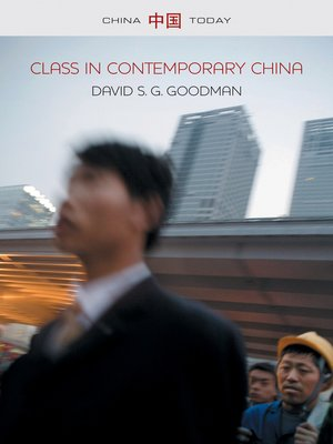 cover image of Class in Contemporary China