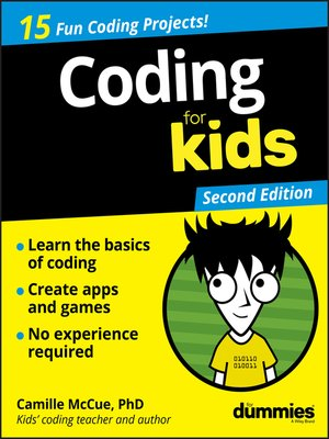 cover image of Coding For Kids For Dummies