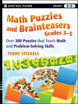 cover image of Math Puzzles and Brainteasers, Grades 3-5