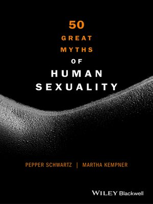 cover image of 50 Great Myths of Human Sexuality