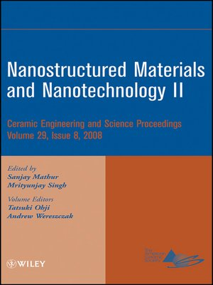 cover image of Nanostructured Materials and Nanotechnology II