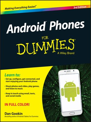 cover image of Android Phones for Dummies
