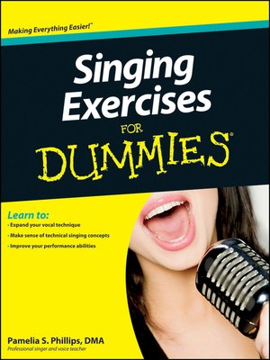 cover image of Singing Exercises For Dummies