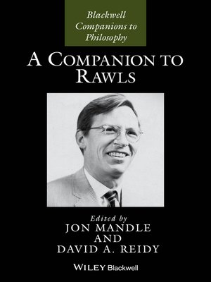 cover image of A Companion to Rawls