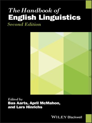 cover image of The Handbook of English Linguistics