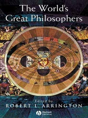 cover image of The World's Great Philosophers