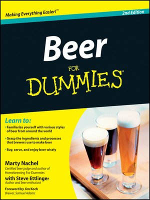 cover image of Beer For Dummies