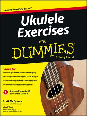 cover image of Ukulele Exercises For Dummies, Enhanced Edition