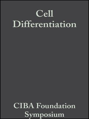 cover image of Cell Differentiation
