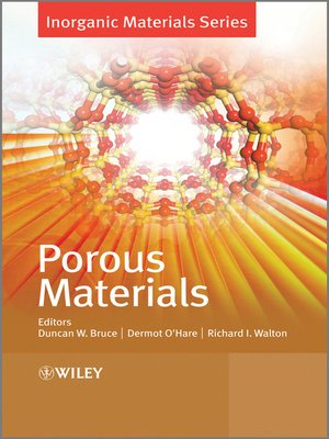 cover image of Porous Materials