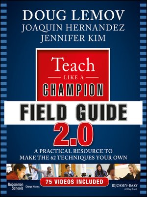 cover image of Teach Like a Champion Field Guide 2.0