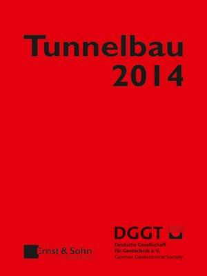 cover image of Taschenbuch für den Tunnelbau 2014