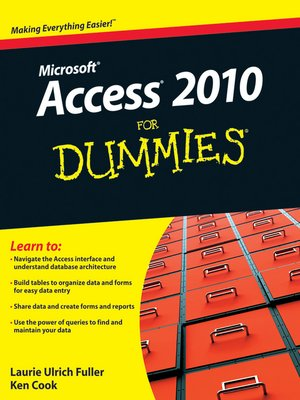 cover image of Access 2010 For Dummies