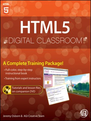 cover image of HTML5 Digital Classroom