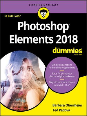 cover image of Photoshop Elements 2018 For Dummies