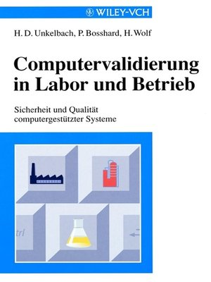 cover image of Computervalidierung in Labor und Betrieb