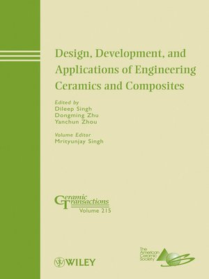 cover image of Design, Development, and Applications of Engineering Ceramics and Composites