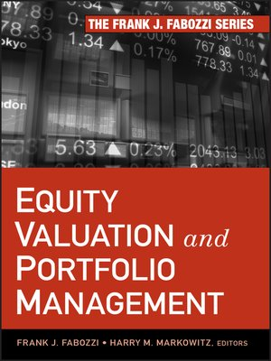 cover image of Equity Valuation and Portfolio Management