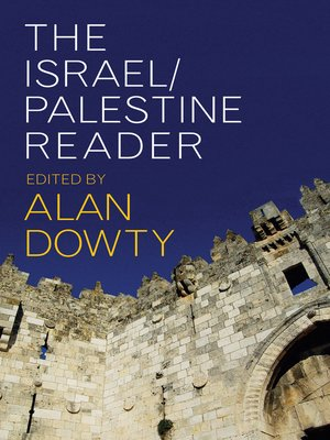 cover image of The Israel/Palestine Reader