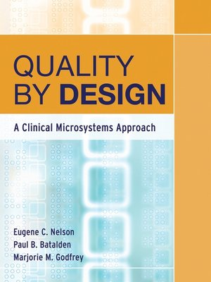 cover image of Quality by Design