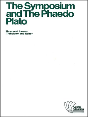 cover image of The Symposium and the Phaedo