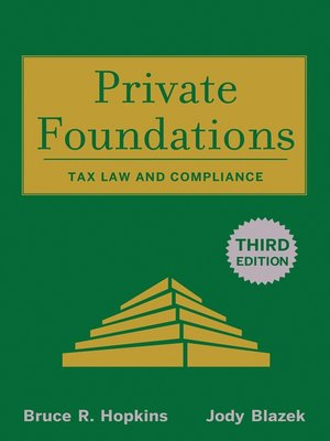 cover image of Private Foundations