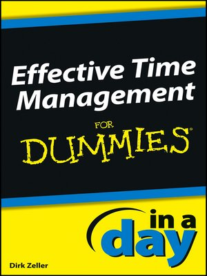 successful time management for dummies pdf download