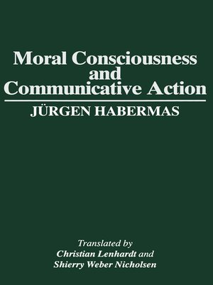 cover image of Moral Consciousness and Communicative Action