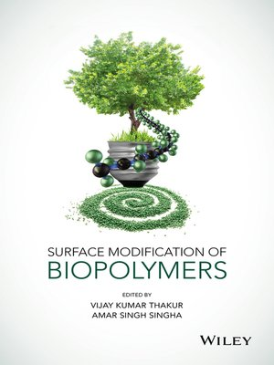 cover image of Surface Modification of Biopolymers