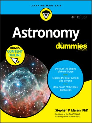 cover image of Astronomy For Dummies