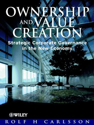 cover image of Ownership and Value Creation