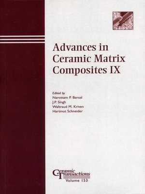 cover image of Advances in Ceramic Matrix Composites IX