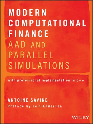 cover image of Modern Computational Finance