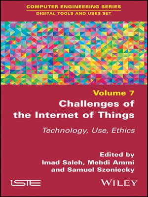 cover image of Challenges of the Internet of Things