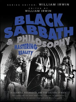 cover image of Black Sabbath and Philosophy