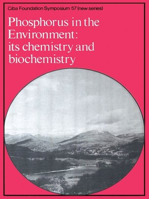 cover image of Phosphorus in the Enviroment