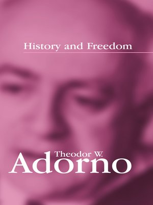cover image of History and Freedom