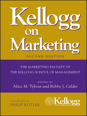 cover image of Kellogg on Marketing