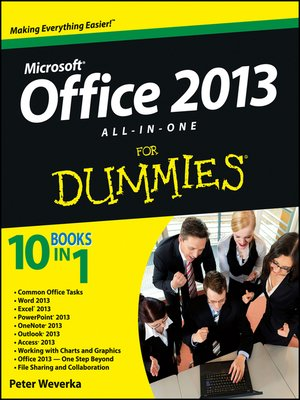 cover image of Office 2013 All-In-One For Dummies