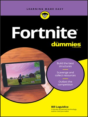 cover image of Fortnite For Dummies