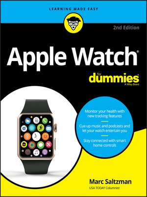 cover image of Apple Watch For Dummies