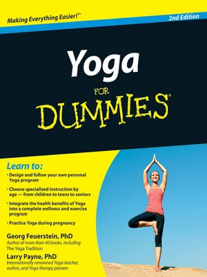 cover image of Yoga For Dummies