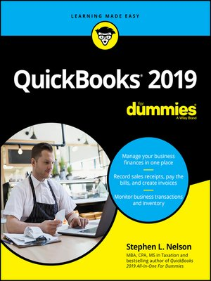 cover image of QuickBooks 2019 For Dummies