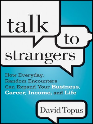 cover image of Talk to Strangers