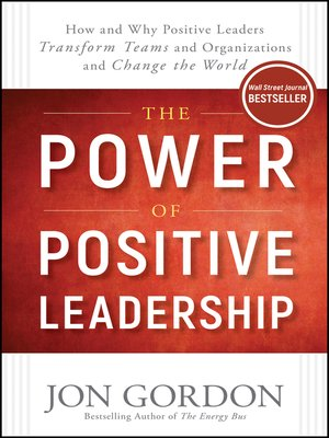cover image of The Power of Positive Leadership