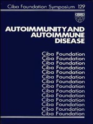 cover image of Autoimmunity and Autoimmune Disease