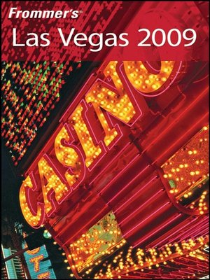 cover image of Frommer's Las Vegas 2009