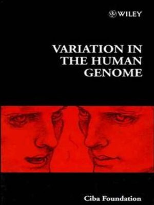cover image of Variation in the Human Genome